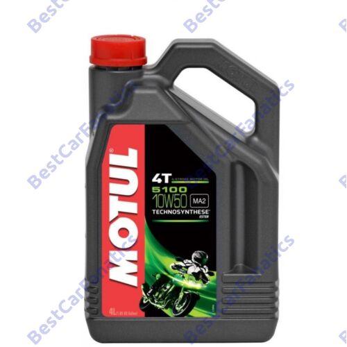 MOTUL 5100 4T 10W-50 4L kiszerelésű technoszintetikus motorolaj