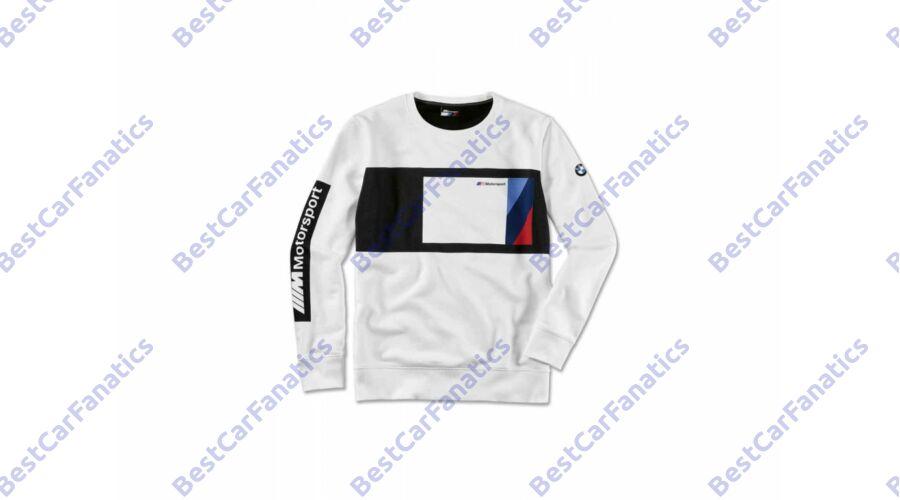 083e2d5a9e Gyári BMW M Motorsport fehér fekete 2019 S-es pulóver 80142461112 Katt rá a  felnagyításhoz