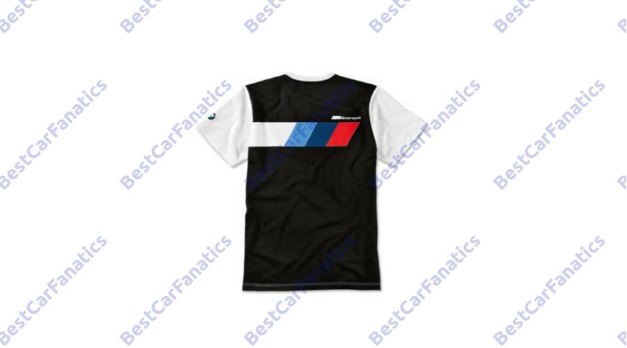 2e0713d0eb Gyári BMW M Motorsport 2019 fehér fekete férfi póló 80142461102 - BCF.HU